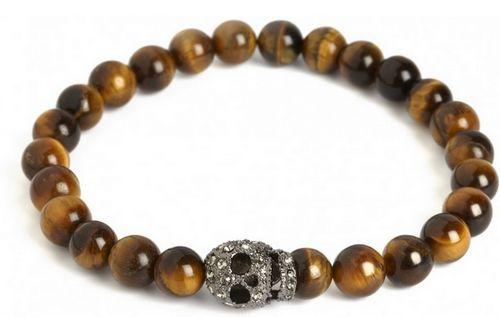 bracelet en perles pour homme